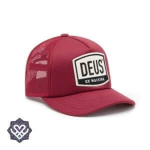 DEUS Moretown Trucker cap - Red