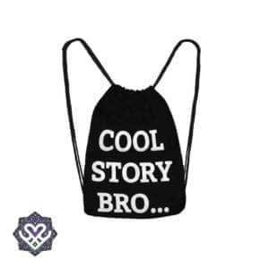 cool story bro gym bag rugtasje