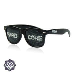 gekke zonnebril hardcore