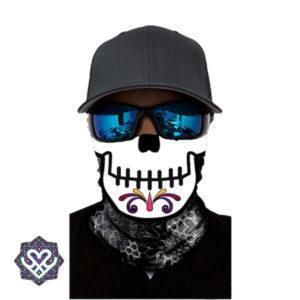 skull bandana mouth