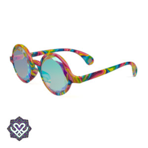 caleidoscoop bril platte lens