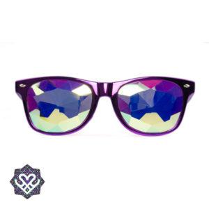 kaleidoscoop spacebril paars