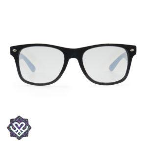 space bril zwart montuur