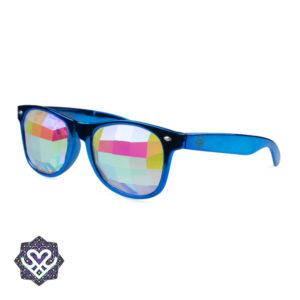 spacebril tripbril blauw montuur