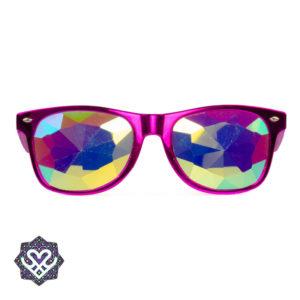 voorkant diffraction glasses roze