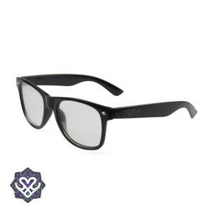 zwarte spacebril