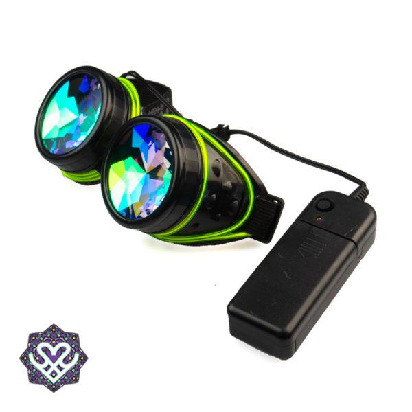 el wire caleidoscoop goggle partybril