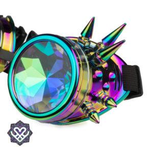 oliekleur goggle caleidoscoop