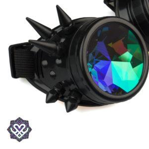 zwarste goggles kaleidoscope spikes